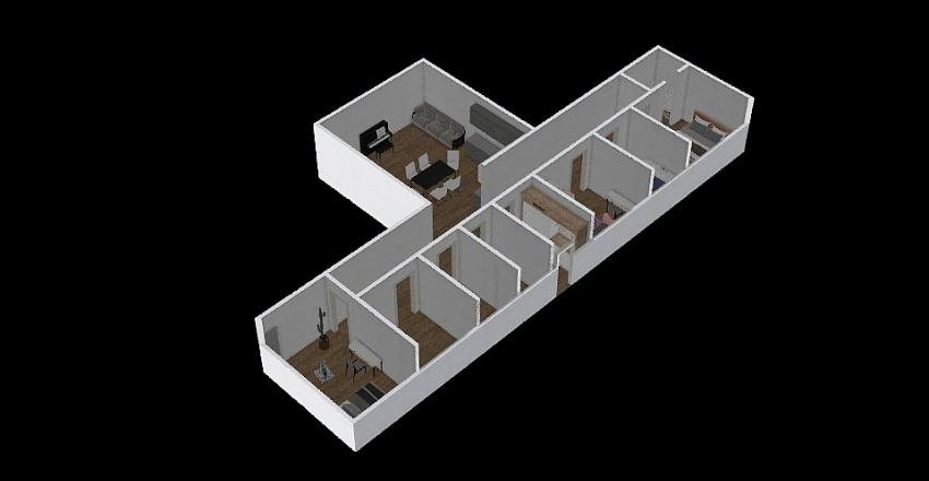T jaunums 1 Interior Design Render