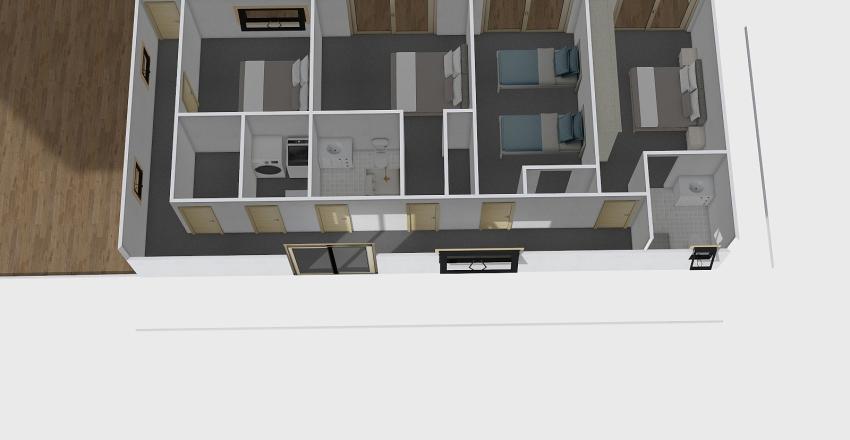 Motiti lodge Interior Design Render