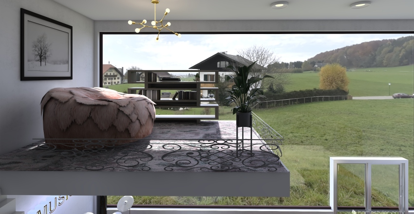 dream room Interior Design Render
