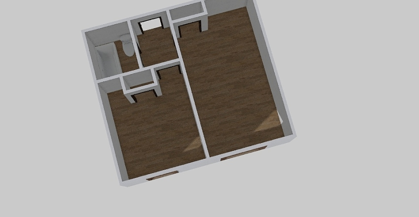 1-комн_0366 Interior Design Render