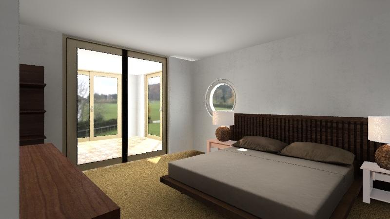 Try Earthship Interior Design Render