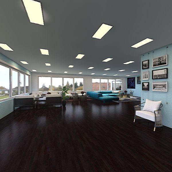Technology Design: Google Office Culminating  Interior Design Render