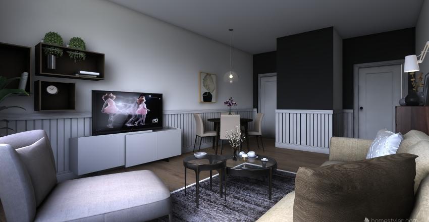 APARTMENT IN OSLO Interior Design Render