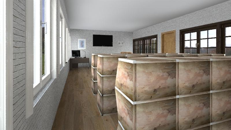 knjižnica-Nataly  Interior Design Render