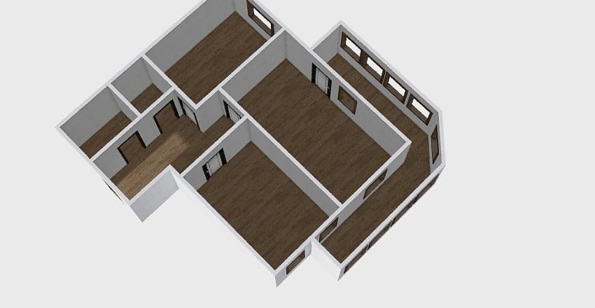 2-комн_0342 Interior Design Render