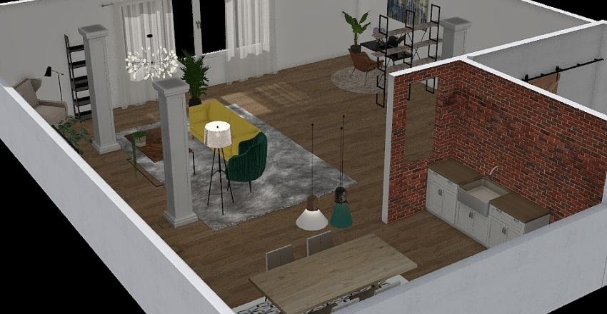 2nd floor Interior Design Render