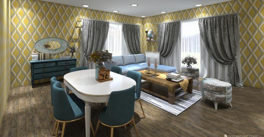turkuaz Interior Design Render