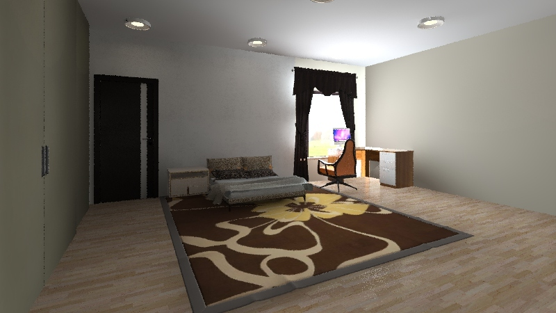 Ronald Mcdonald House Jayla Interior Design Render