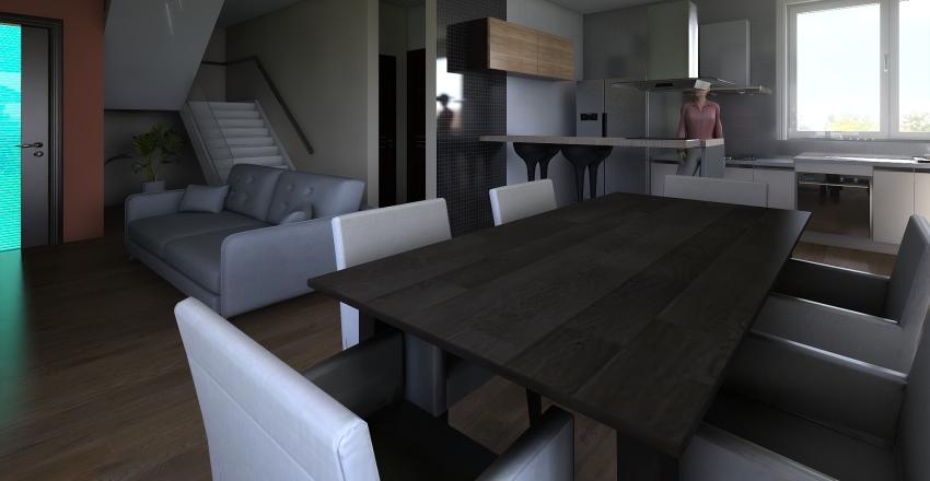 Croqui 3 1º Piso Interior Design Render