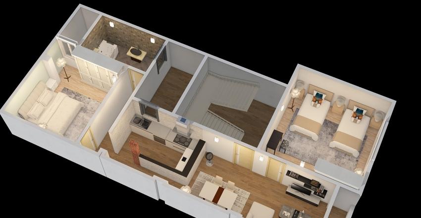 4o8l Interior Design Render