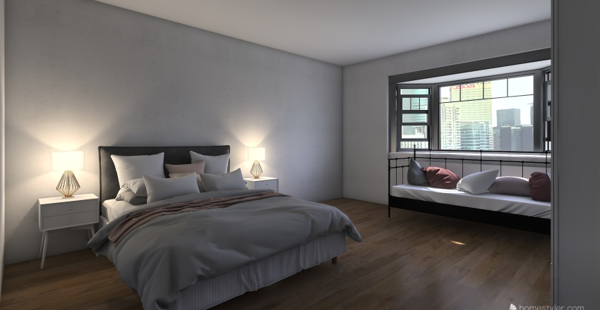 apartment 25 Interior Design Render