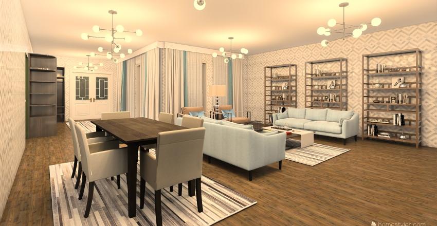 EV Interior Design Render