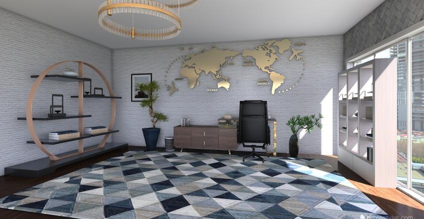 Morgan F2 Interior Design Render