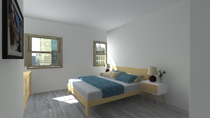 Loft Beato remod Interior Design Render