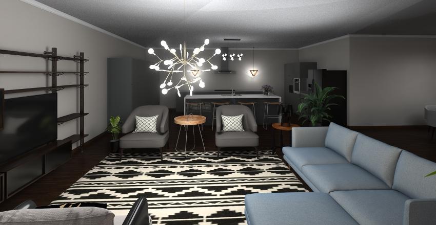 house 1 Interior Design Render