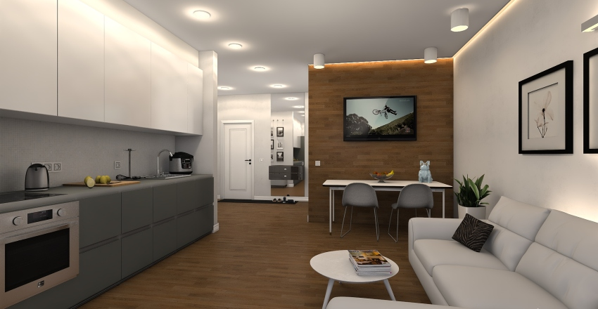 Komfort Interior Design Render
