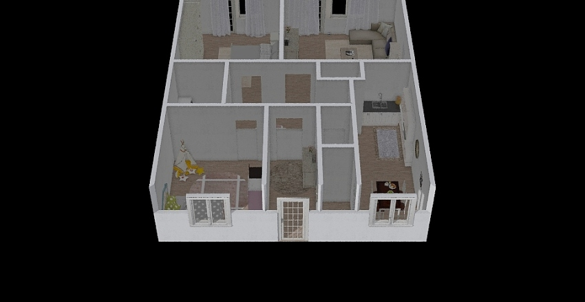 Dominika Dom Interior Design Render