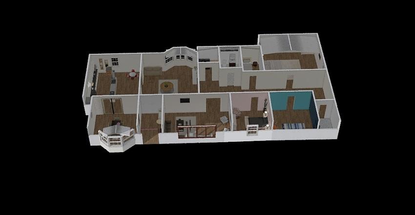zenahs house Interior Design Render