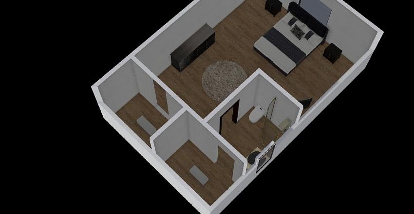 Bedroom final project  Interior Design Render