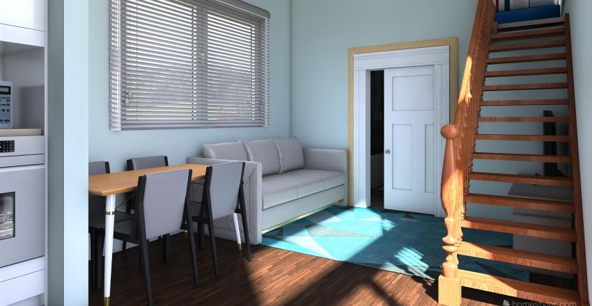 Familia de Seis Interior Design Render