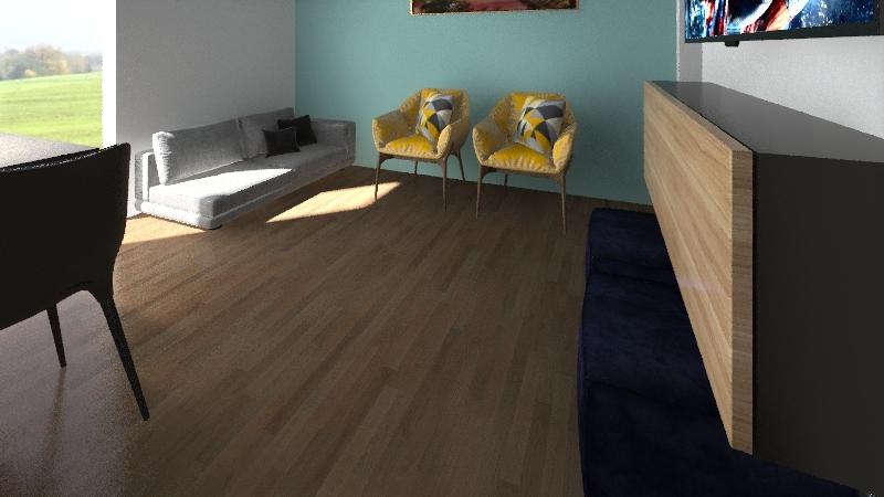 Sala wellington Interior Design Render