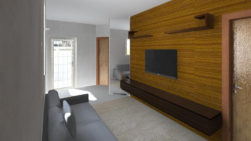 Apartamento 502 Interior Design Render