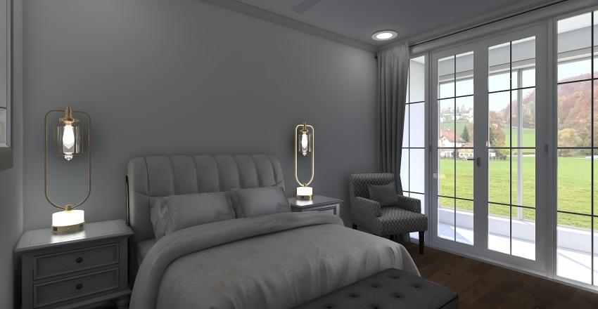 LaChouette 2 Bed 1 Bath Interior Design Render
