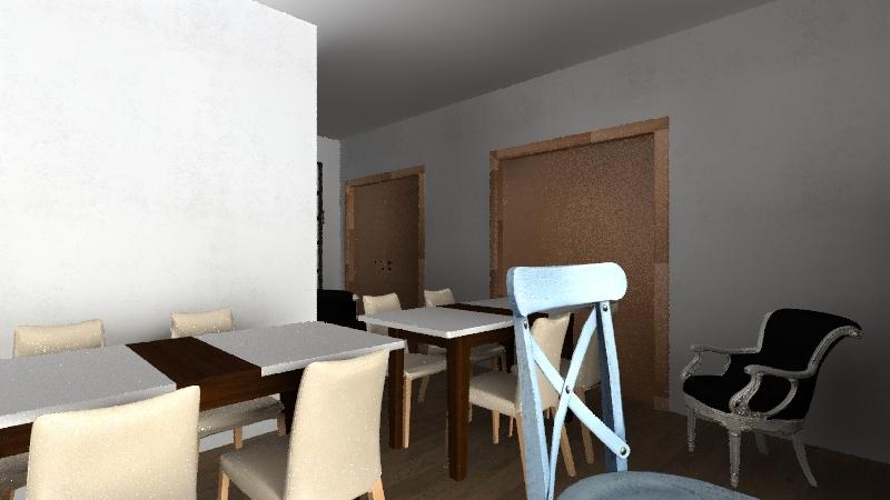 la casa del falegname Interior Design Render
