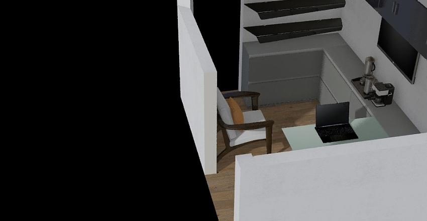 Escritorio Joao Interior Design Render