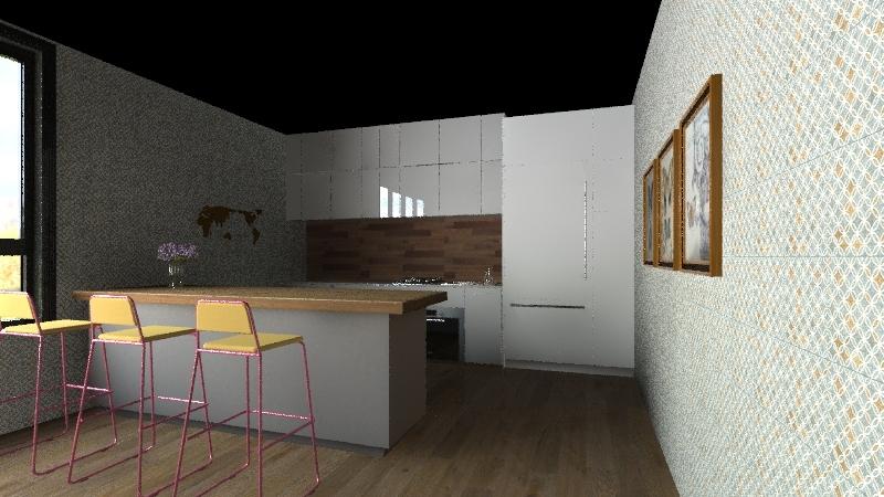 student dorm 4 rent Interior Design Render