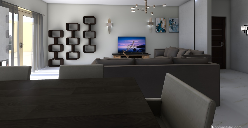 Katsika Ioannina Greece Interior Design Render
