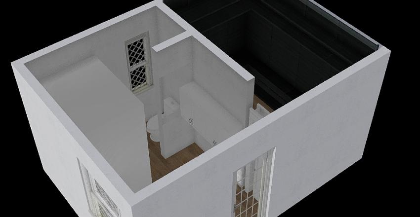 Multiple Bath Interior Design Render