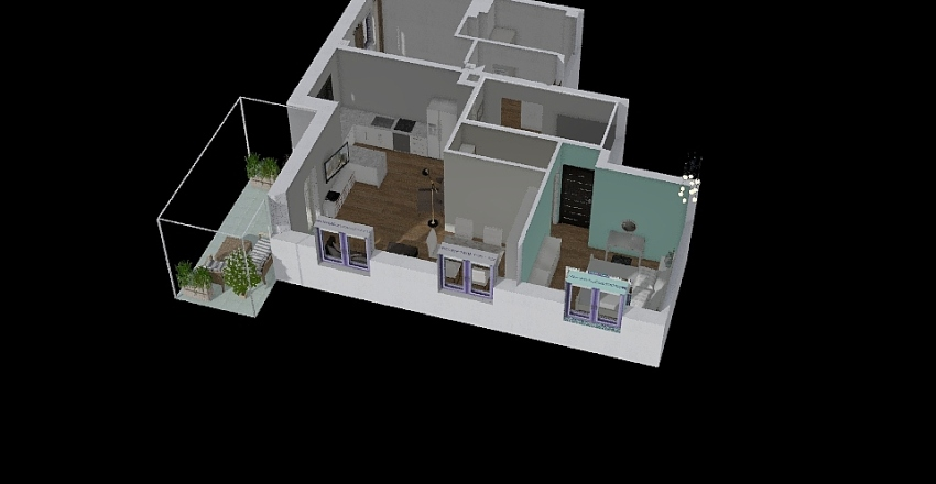 karol 3 Interior Design Render