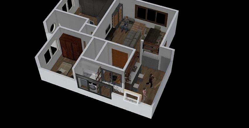 Mansao de Monte Carlo Interior Design Render