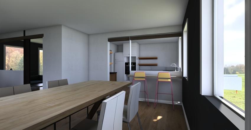 Bredal 1 edit 2 ny mur køkken Interior Design Render