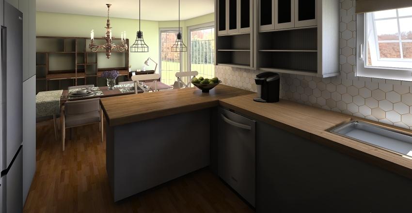 Family Home Update Ideas Interior Design Render