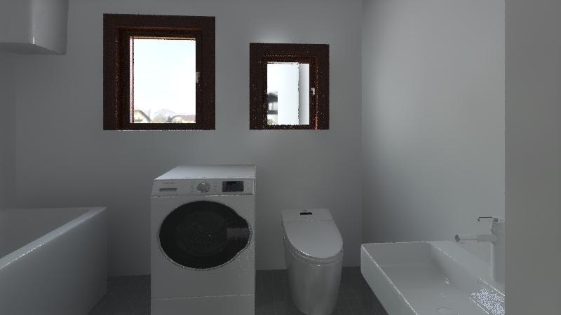 Ház alaprajz Interior Design Render