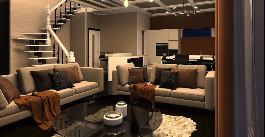 AMERICA Interior Design Render