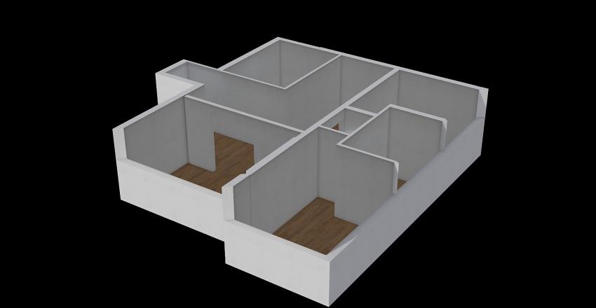 V x A house Interior Design Render