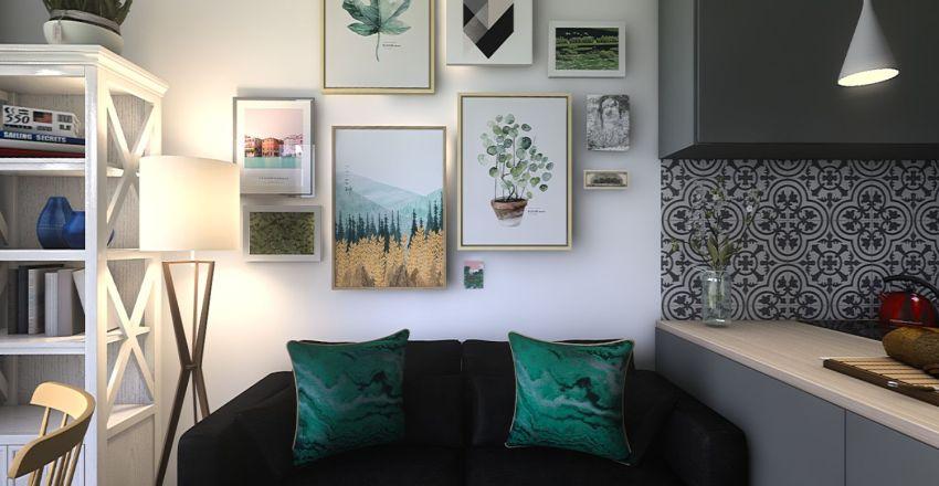 1/2 Interior Design Render