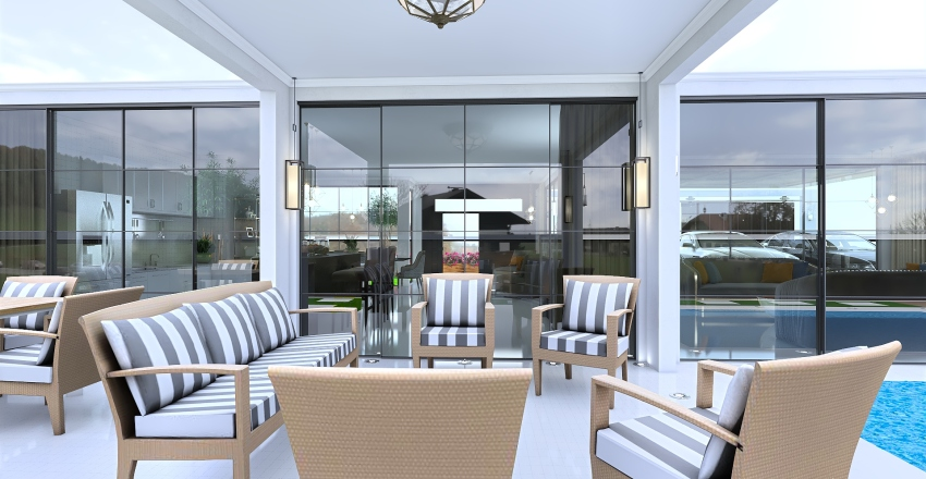 Casa de campo 15/01/20 Interior Design Render