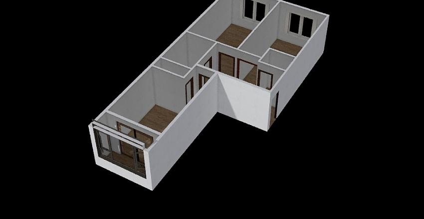 Olga apt Interior Design Render