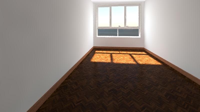 con muebles Interior Design Render