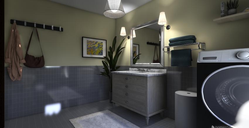 small apartaments Interior Design Render