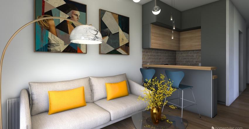 1/3 Interior Design Render
