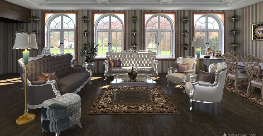 k ömjnı Interior Design Render