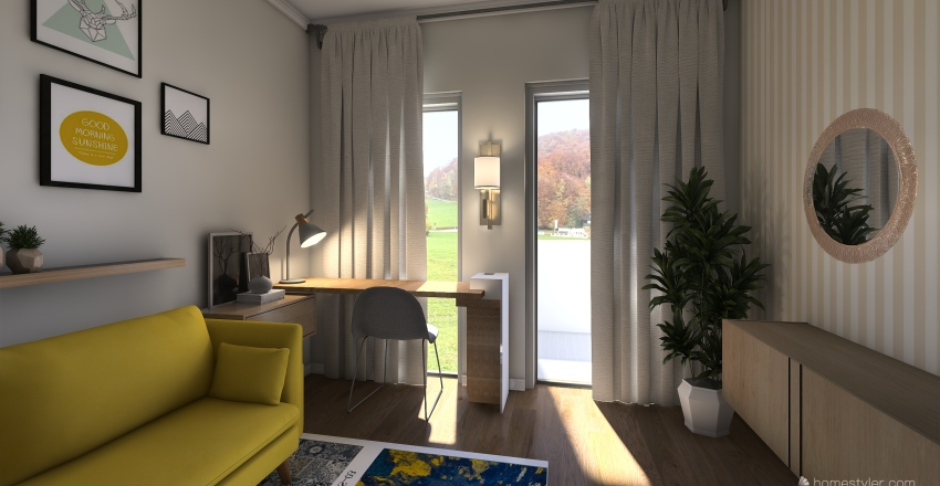 My home5 Interior Design Render