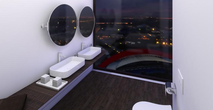 Minimalist Loft Interior Design Render