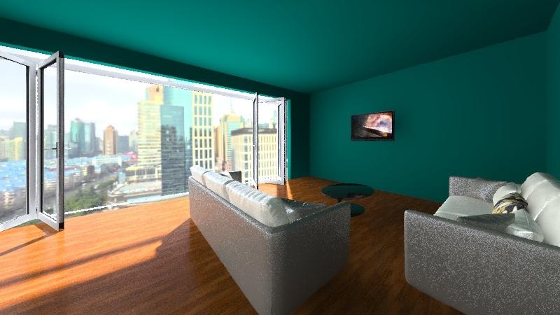 fatima siddique Interior Design Render