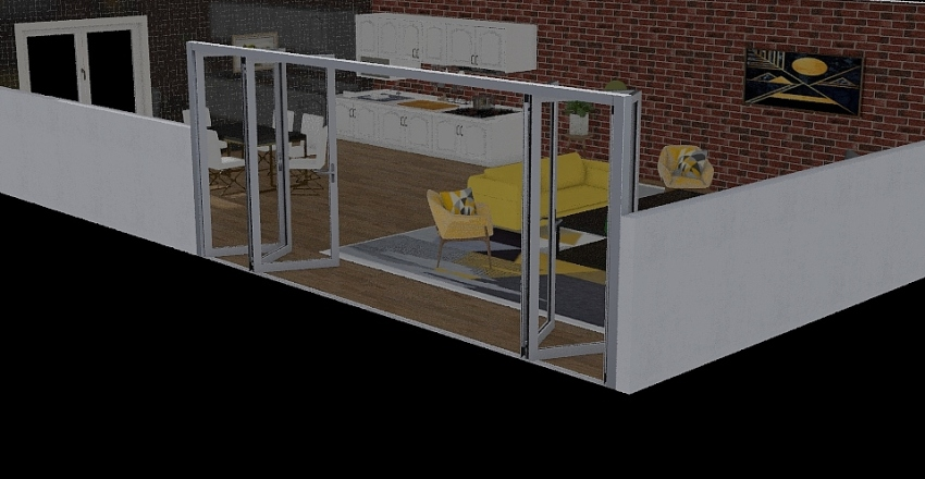 Egzamin Interior Design Render